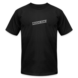 Licorice - Men's T-Shirt by American Apparel