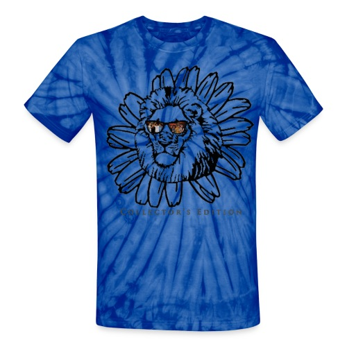 Bandylions Limited Edition Collectible Tie Dye Tshirt - Unisex Tie Dye T-Shirt