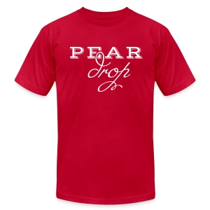 Pear Drop - Men's T-Shirt by American Apparel
