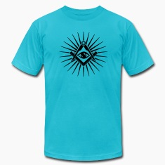 Masonic symbol, all seeing eye, freemason T-Shirts
