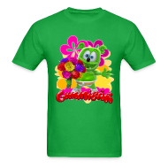 T-Shirts ~ Men's T-Shirt ~ Gummibär Flowers Men's T-