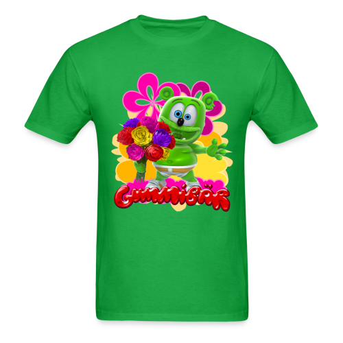 Gummibär Flowers Men's T- - Men's T-Shirt