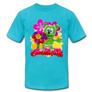 T-Shirts ~ Men's T-Shirt by American Apparel ~ Gummibär Flowers Men's T-
