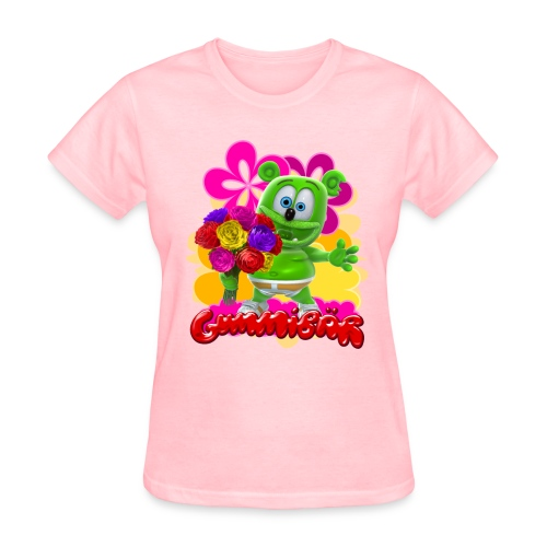 Gummibär (The Gummy Bear) Flowers Women's T- - Women's T-Shirt