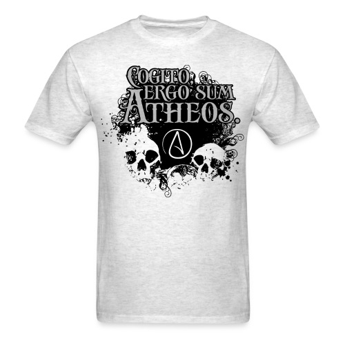 Thinking Atheist - Men's T-Shirt