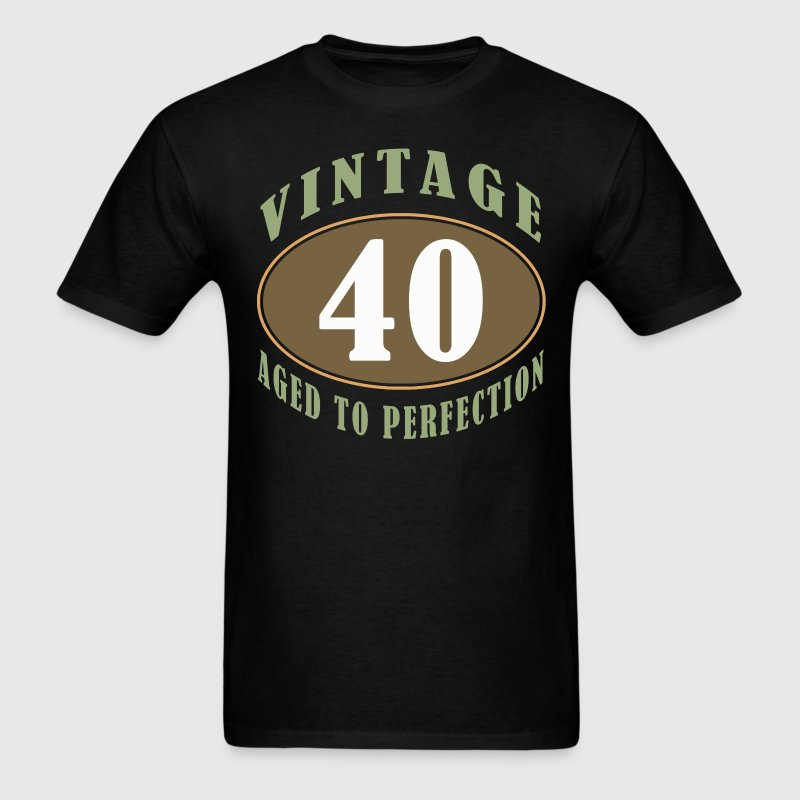 40th Birthday Vintage - Men's T-Shirt
