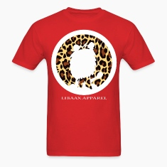 The Silhouette Logo in Leopard Print