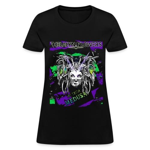 Hi-Tech Medusa Girlish T-Shirt - Women's T-Shirt