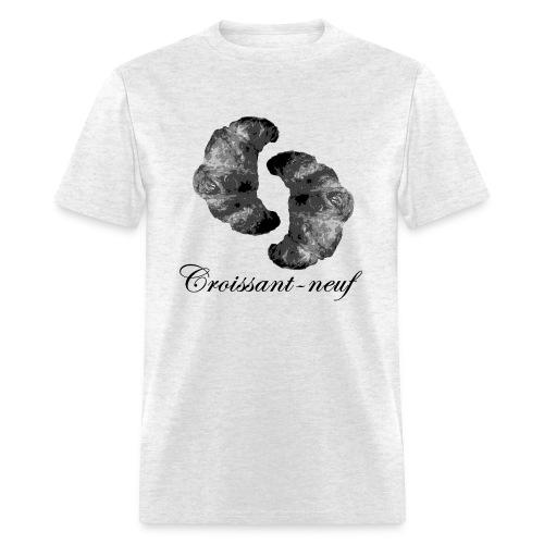 Croissant-neuf (Black) - Men's T-Shirt