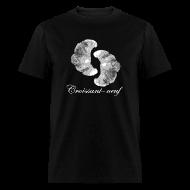 T-Shirts ~ Men's T-Shirt ~ Croissant-neuf (White)