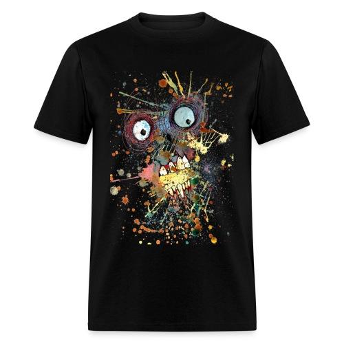 shocked zombie mens - Men's T-Shirt