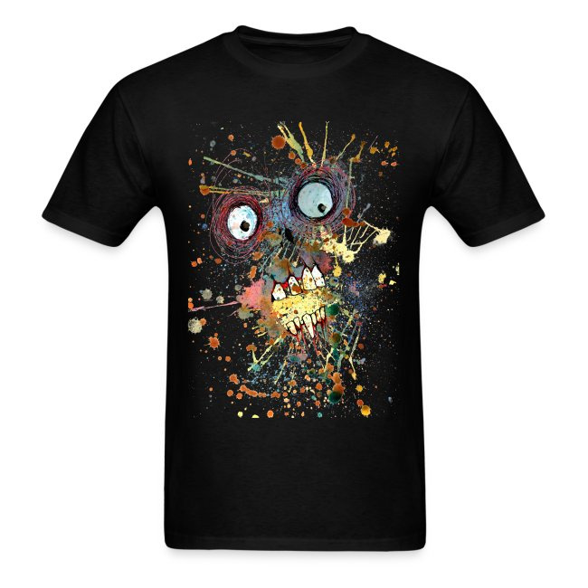 shocked zombie mens