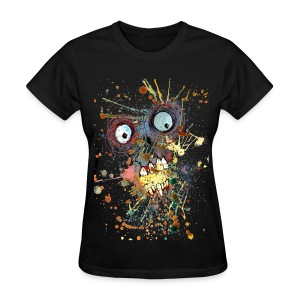 shocked zombie womens - Women's T-Shirt