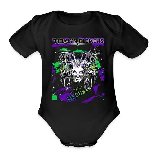 Hi-Tech Medusa Baby Body - Organic Short Sleeve Baby Bodysuit