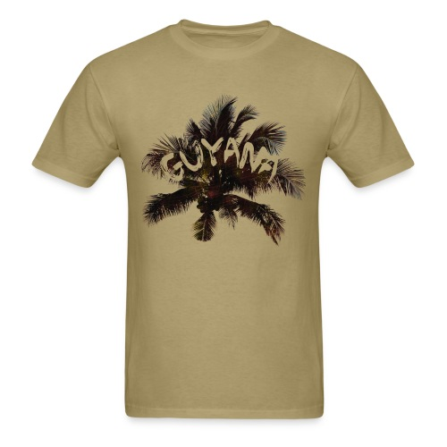 Guyana Coconut Tree - Men's T-Shirt