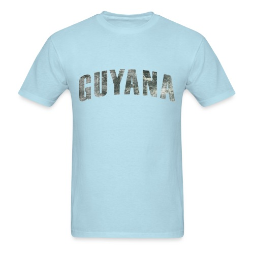 Guyana Distressed - Men's T-Shirt