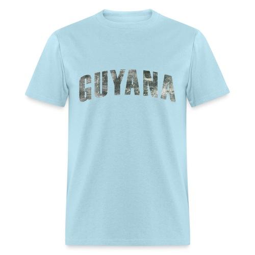 Guyana Distressed - Men's T-Shirt