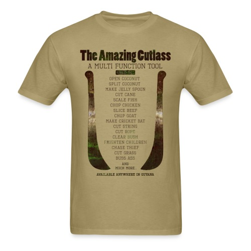 The Amazing Cutlass Tool - Men's T-Shirt