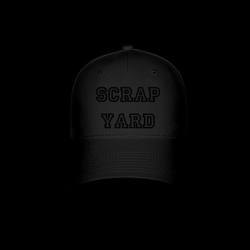 Scrap Yard Hat Blackout - Baseball Cap