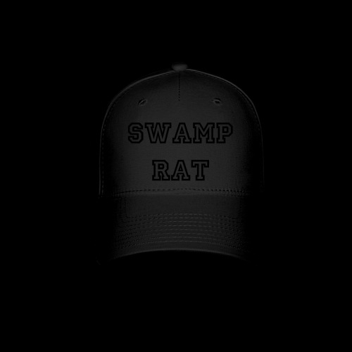 Swamp Rat Hat Blackout - Baseball Cap