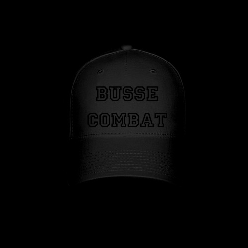 Busse Combat Hat Blackout - Baseball Cap