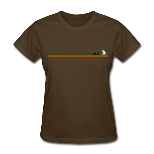 T-Shirt Woman Rasta Line - Women's T-Shirt