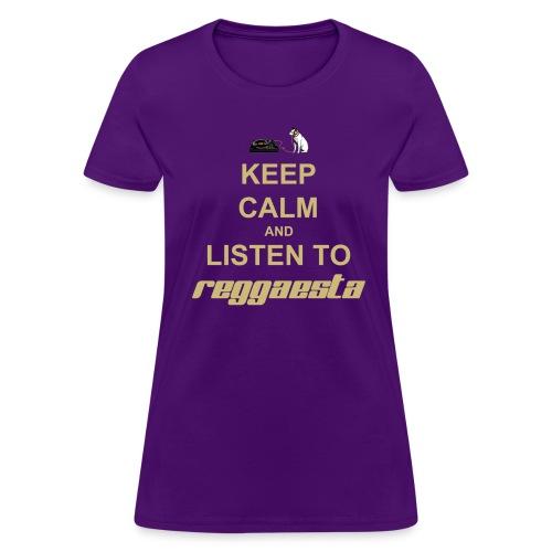 T-Shirt Woman Keep Calm - Women's T-Shirt