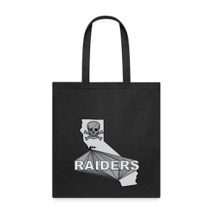 CA Raiders tote bag - Tote Bag