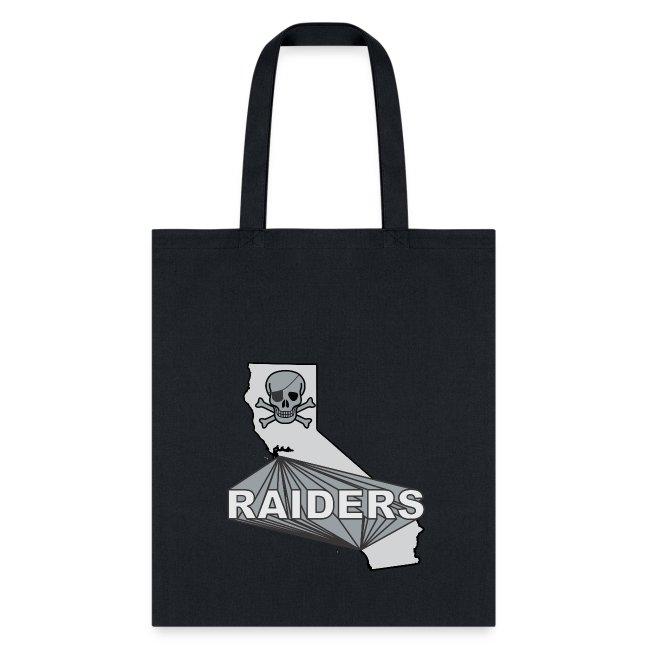 CA Raiders tote bag