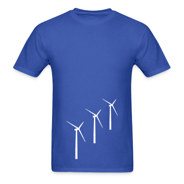 3 wind turbines T-Shirts