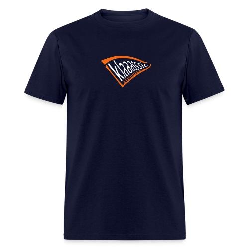 KLAAASSIC (Orange-Blue) - Men's T-Shirt