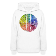 Hoodies ~ Women's Hoodie ~ color wheel doodle