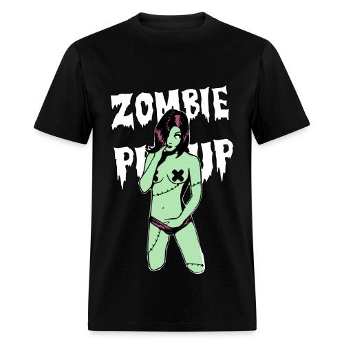 Zombie Girl T-Shirt  - Men's T-Shirt