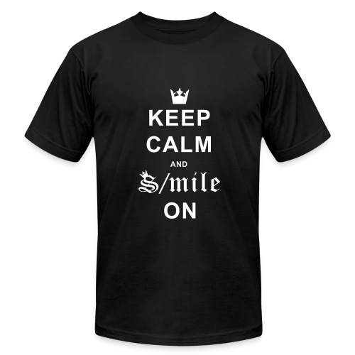 S/Mile On - Men's Fine Jersey T-Shirt