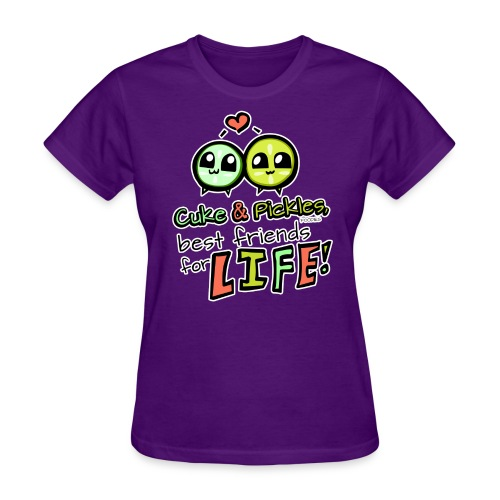 Cuke & Pickles, Best friends for LIFE! - Women's T-Shirt