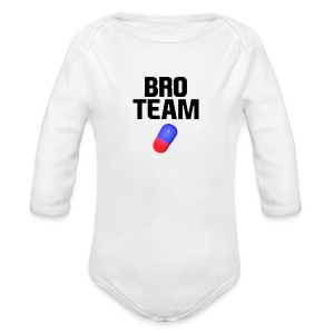 Small Human Wrapper - Long Sleeve Baby Bodysuit