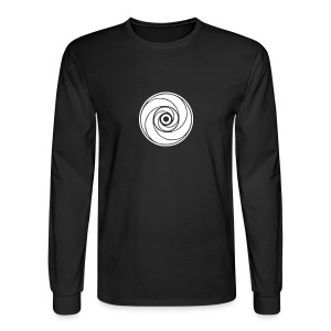 Men's Long Sleeve T-shirt (White Logo) - Men's Long Sleeve T-Shirt