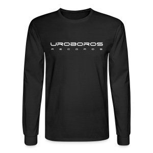 Men's Long Sleeve T-shirt (White Text) - Men's Long Sleeve T-Shirt