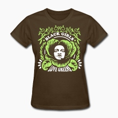 Black Girls Love Greens Women's Standard T-Shirt