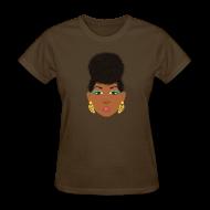 Women's T-Shirts ~ Women's T-Shirt ~ Diva Puff Basic T~Shirt
