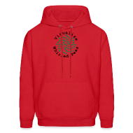Hoodies ~ Men's Hoodie ~ Visualize Whirled Peas