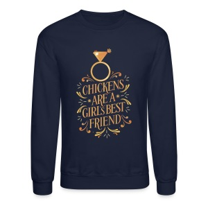 Girl's best friend - Crewneck Sweatshirt