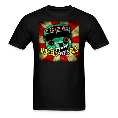 Wheels on the Bus (heavy metal) song cover T-Shirt - Men's T-Shirt