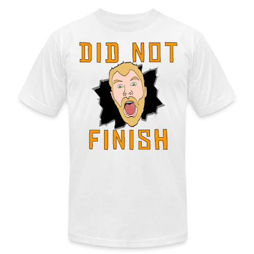 Did Not Finish Slim Fit Shirt - Men's Fine Jersey T-Shirt