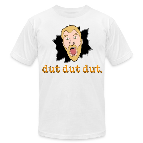 dut dut dut. Slim Fit Shirt - Men's Fine Jersey T-Shirt