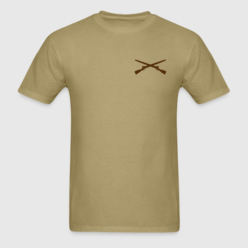 Men's Crossed  Infantry Rifles Shirt - Men's T-Shirt
