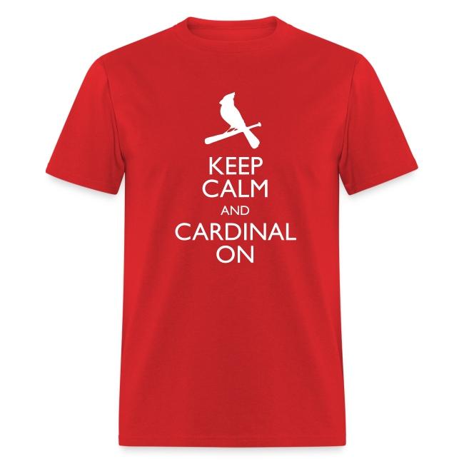 Keep Calm and Cardinal On