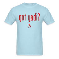 T-Shirts ~ Men's T-Shirt ~ Got Yadi? We Do. Blue