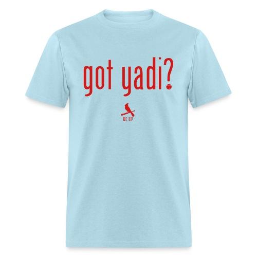 Got Yadi? We Do. Blue - Men's T-Shirt
