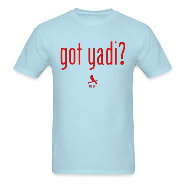 Got Yadi? We Do. Blue